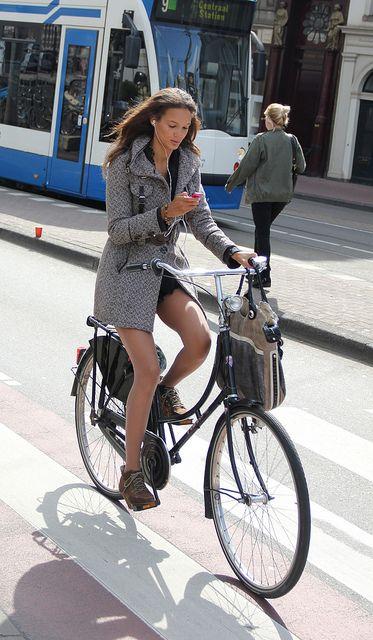 bike girl without helmet