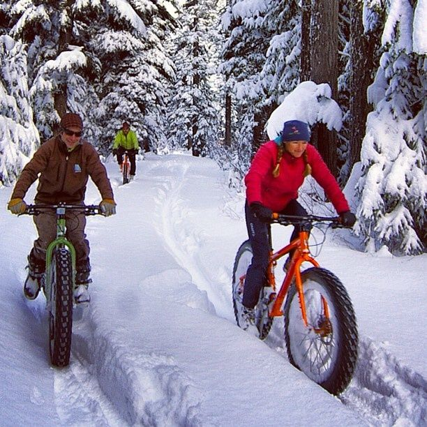 fatbike in winter