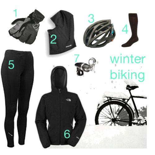 winter cycling dress